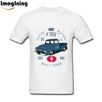 Custom Cars T Shirt Mens Ford F100 Truck T Shirts Novelty Design Man XS XXXL Camiseta