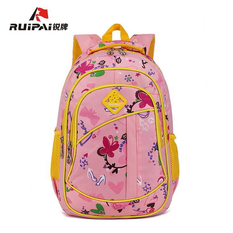 RUIPAI New School Bags for Girls Brand Women Backpack Wholesale Kids Backpacks Schoolbag Multi-pocket Student Durable Mochila