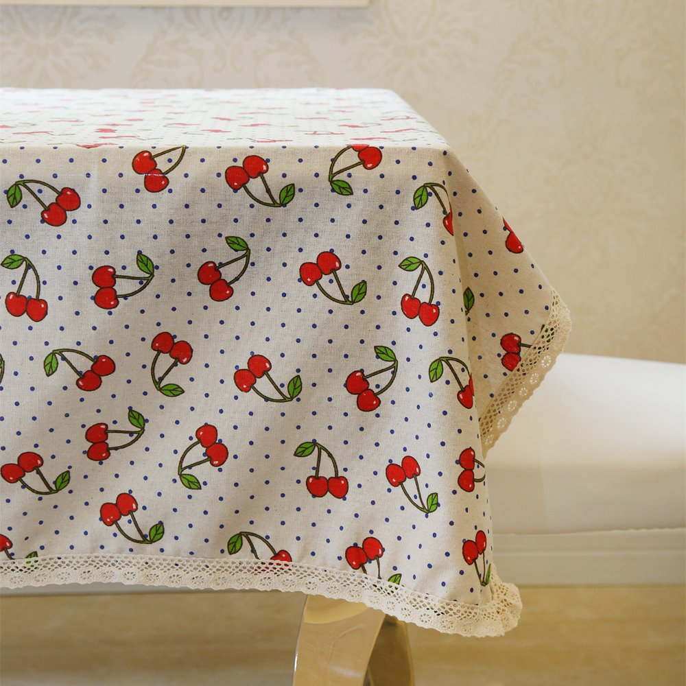 Latest High Grade Eco Friendly Amazing Fruits Cherry Croche Table