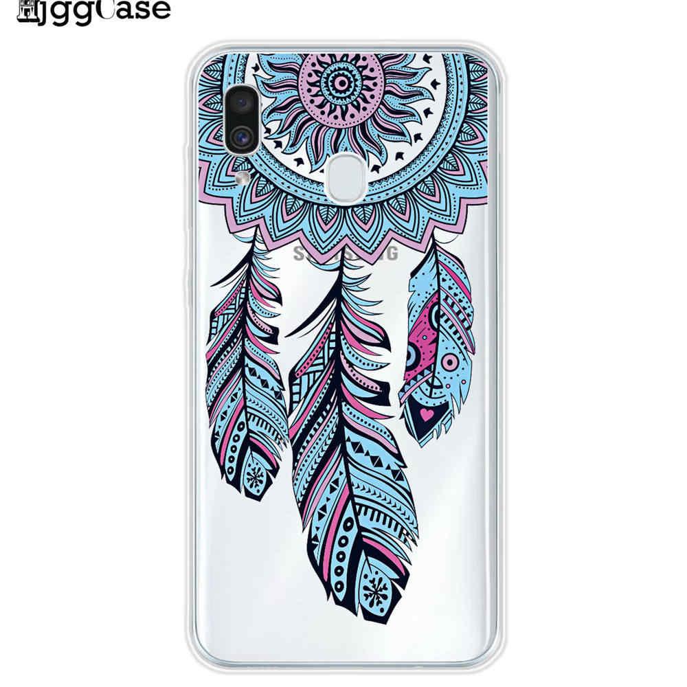 Samsung Galaxy A30 Durumda Silikon TPU Koruyucu Kapak Telefon Samsung kılıfı A30 A305F A305 30 SM-A305F A10 A50 Kılıfı yumuşak
