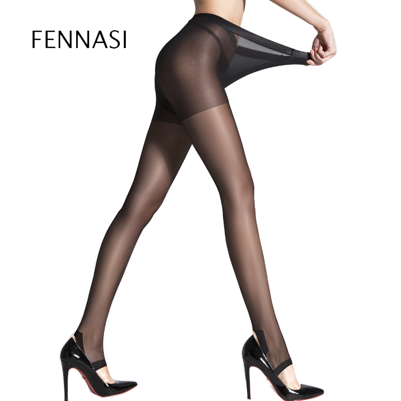 FENNASI Open Toe Womens Tights Sexy Pantyhose Fashion Summer Tights Ladies Ultra-Thin Elastic Silk Stockings Female Hosiery