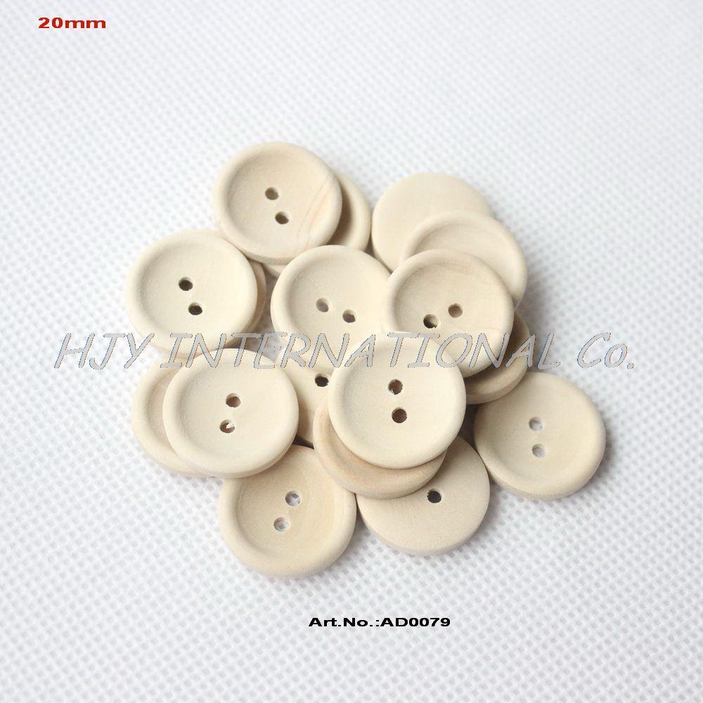 (200 шт) 20 мм круглые деревянные Швейные Кнопки Персонализированная кнопка с вашим текстом или именем магазина естественный цвет 0.8in-AD0079