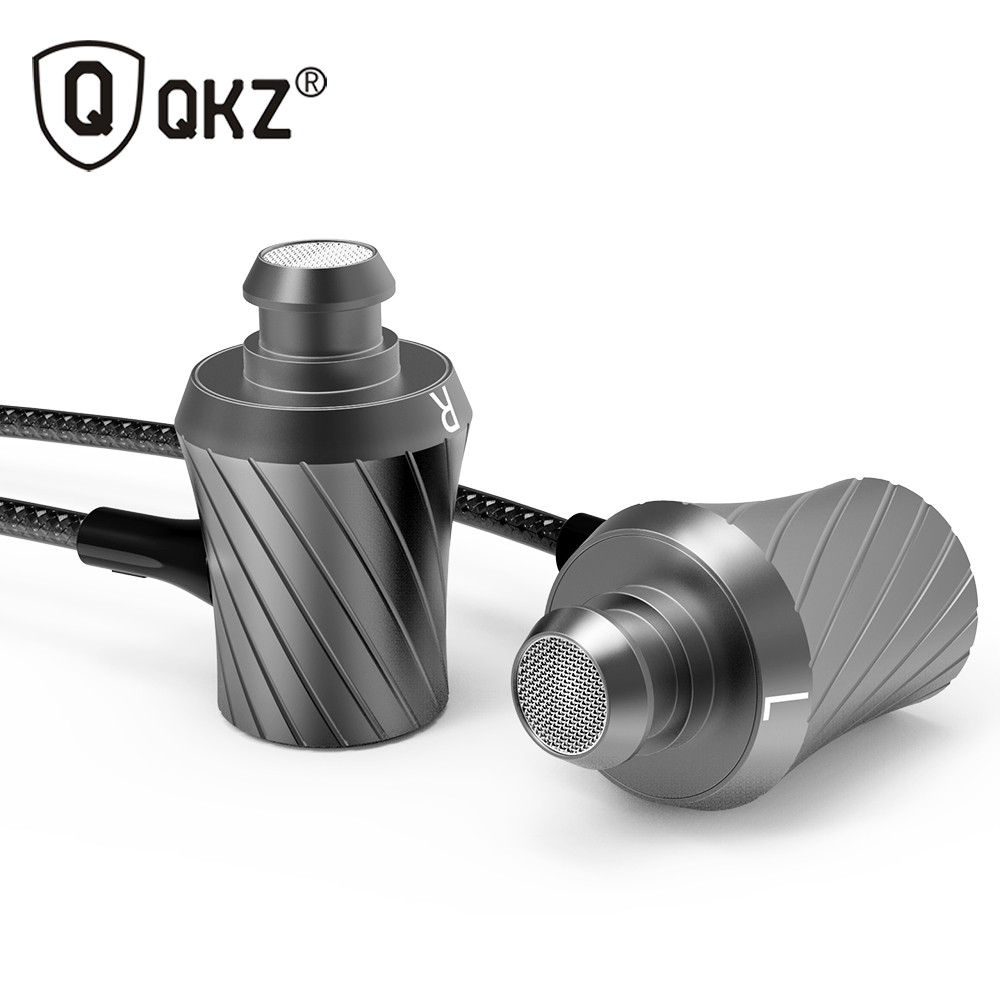 100% Original Earphone QKZ DM3 Luxury Stereo Earphones Headset 3.5mm In Ear Earphone With Mic For iPhone Samsung And MP3 DJ HTC