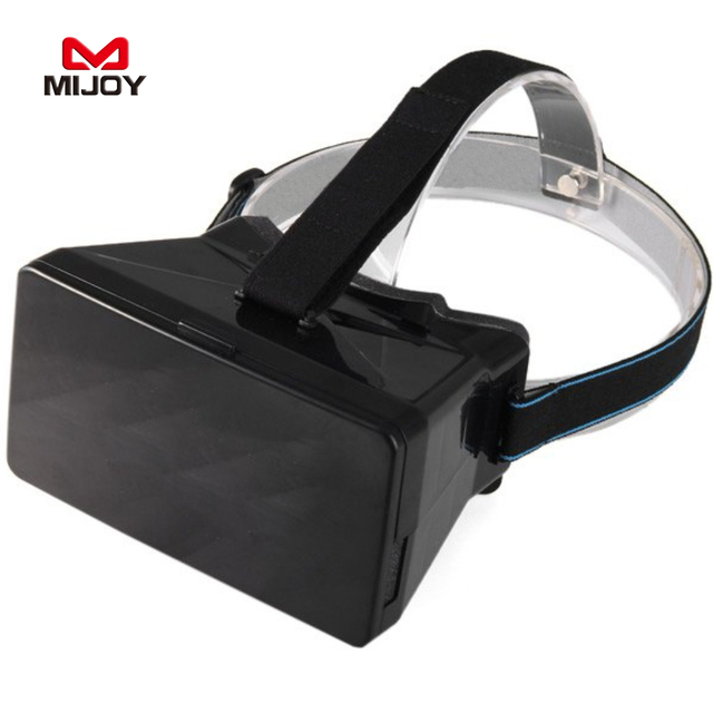 """MIJOY RITECH 1 Виртуальной Реальности 3D VR Очки Носимые Гарнитуры Частный Театр Для 3.5-5.6 """"смартфон VR Коробка 3D Очки"""