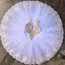 Biała profesjonalna baletowa baletowa spódniczka tutu dla dzieci dzieci dzieci dziewczyny kobiety dorośli baleriny party balet kostiumy do tańca dziewczyny