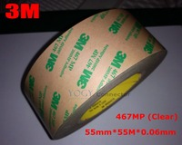 1x 55mm Ultra Thin 3M 467MP 200MP Adhesive Tape For Industrial Electrical Panel Assemble Phone LCD