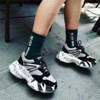 LMCAVASUN Sneaker Women Breathable Sport Casual Shoes Woman Bordered Platform Sneakers Walking Tennis Shoes Women trainers