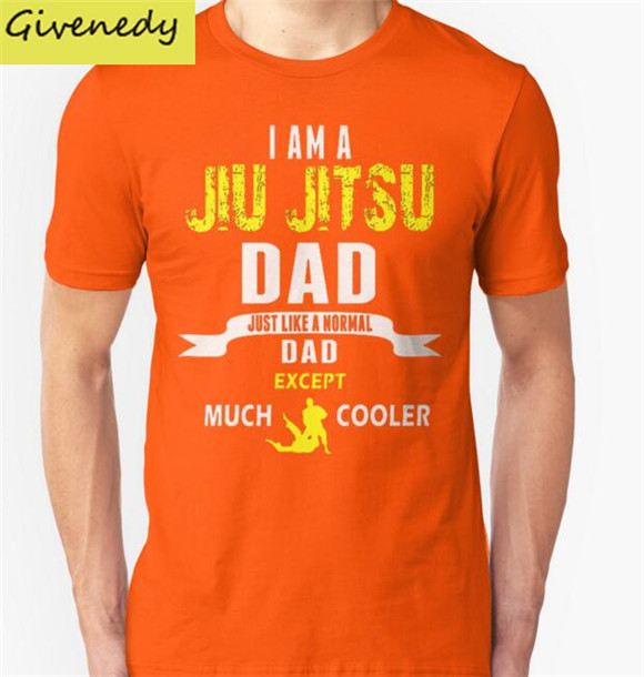 d0603f11 2016 new style Short Sleeve Cool I am a jiu jitsu dad Cartoon t-shirts Men T  Shirt Printing Casual Tee Shirt Sale