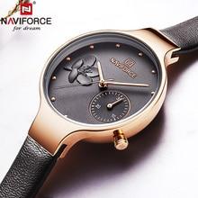 NAVIFORCE для женщин часы Лидирующий бренд роскошные часы женские модные часы 2019 женские часы кварцевые женские часы Relogio Feminino