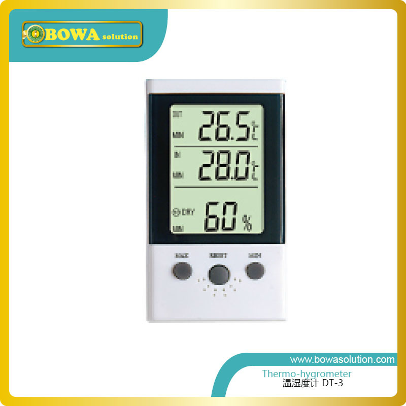 thermo-hygrometer DT-3  measure different ranges of humidity and temperature depending on the model thermo operated water valves are used for proportional regulation of flow quantity depending on the setting and the sensor