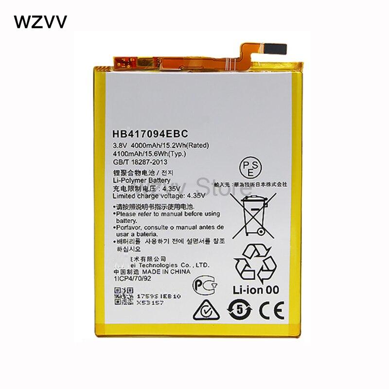 wzvv 4000mAh HB417094EBC Battery For Huawei Mate 7 mate7 MT7 TL00 TL10 UL00 CL00 +track code