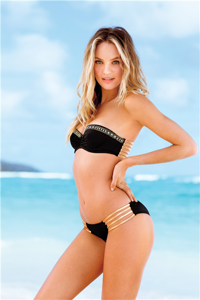 Home Decor Candice Swanepoel Poster Sexy Underwear Sexy Girl Posters Model Custom Canvas Wallpaper Sexy Lingerie Sticker P2060 In Wall Stickers From Home