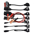 OBD 2 II Cable Full Set 8 Truck Cables OBD2 Diagnostic OBD OBDII OBD 2 Connect Cable For TCS CDP Pro