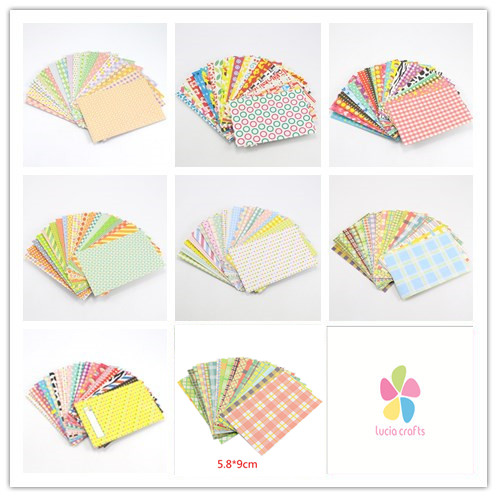 Lucia Crafts 20sheets/lot Colorful Masking Paper Craft Stickers Tape Scrapbooking DIY Stickers For Photo Decoration  I0413