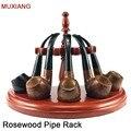Аксессуары для курительных труб MUXIANG  5 секций  полукруглая стойка для табачных труб в романтическом стиле  более безопасная и практичная по...