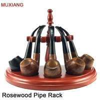 MUXIANG Smoking Pipe Accessories 5 Pipe Rack Half round Romanesque Style Safer and More Practical Tobacco Pipe Stand fa0007 69