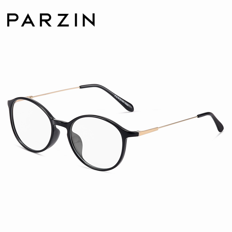 PARZIN Fashion Oval Optical Frames For Women High Quality Anti Blue Clear Lens Customizable Myopia Glasses