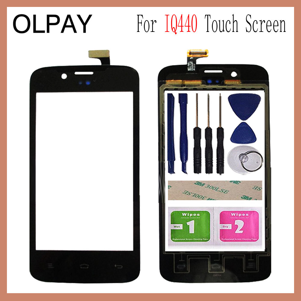 OLPAY 4.0 Mobile Touch Glass For Fly IQ440 IQ 440 Touch Screen Digitizer Front Glass Lens Sensor Tools Free Adhesive And WipesOLPAY 4.0 Mobile Touch Glass For Fly IQ440 IQ 440 Touch Screen Digitizer Front Glass Lens Sensor Tools Free Adhesive And Wipes