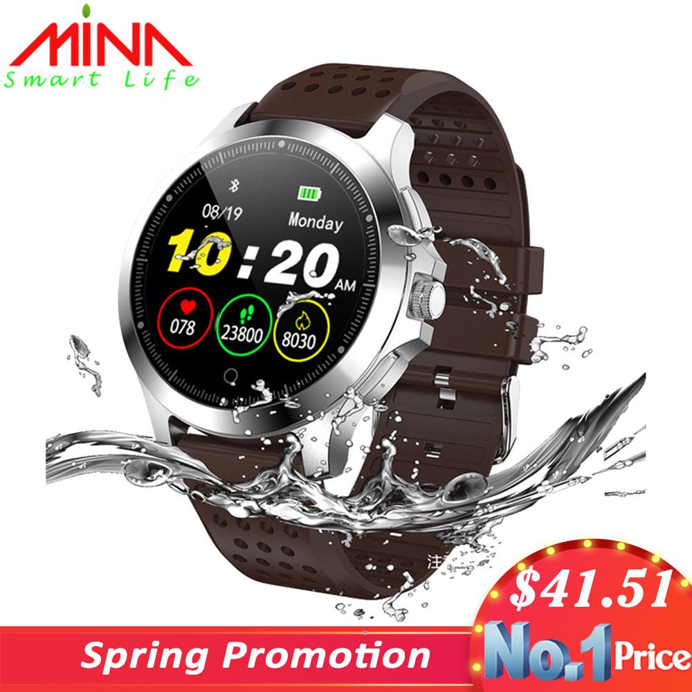 ECG PPG Fitness Bracelet W8 Smart Watch Blood Pressure Heart Rate Monitor Pedometer Waterproof Business Smart