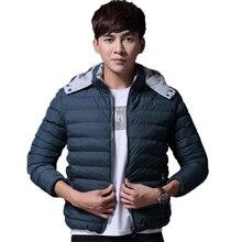 2016 Hooded Warm Winter Jacket Men Hombre Causal Male Jacket Parka Overcoat Hoodie