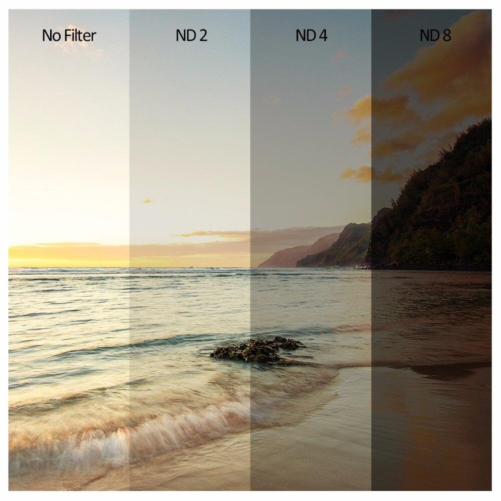 K & F CONCEPT бейтарап тығыздығы линза - Камера және фотосурет - фото 6