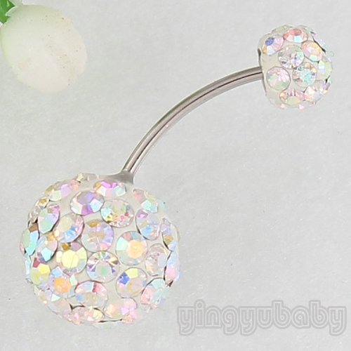 Retail Body Piercing Jewelry Navel Ring Belly Button Rings Or