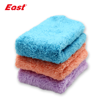 East 3 pcs/lot Cleaning Cloth Microfiber Kitchen Towel Dish Washing Cloth High-efficiency Table Household Cleaning Towel