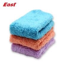 East 3 шт/лот Ткань для очистки кухонное полотенце из микрофибры
