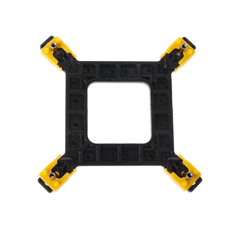 PC CPU Cooler Mounting Bracket Heatsink Holder Base Backplate Kit For Intel 115X/1366/2011