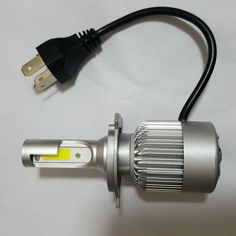 12V 6000K 9003 H4 LED Bombillas de faros delanteros para automóvil - Luces del coche