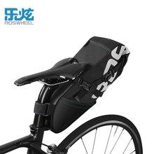 ROSWHEEL MTB Mountain Bike Bag Cycling Bike Saddle Tail Rear Seat Waterproof Storage  High-Capacity 8L Bags Bicycle Accessories