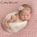 Photography Newborn Fotografia Clothing Studio Wrap Newborn Baby Photograph Props Mesh Wrap Women Shawl Hijab Infant Accessoire
