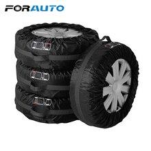 Автомобиль запаску автомобиль-Стайлинг протектора шин сумка для хранения шин 4 шт./компл. Универсальный Водонепроницаемый колеса протектор S L размеры