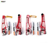 AEST 2 Pair Mountain Bike Bicycle Solid Riding Rim Braking Outdoor Cycling Equipment