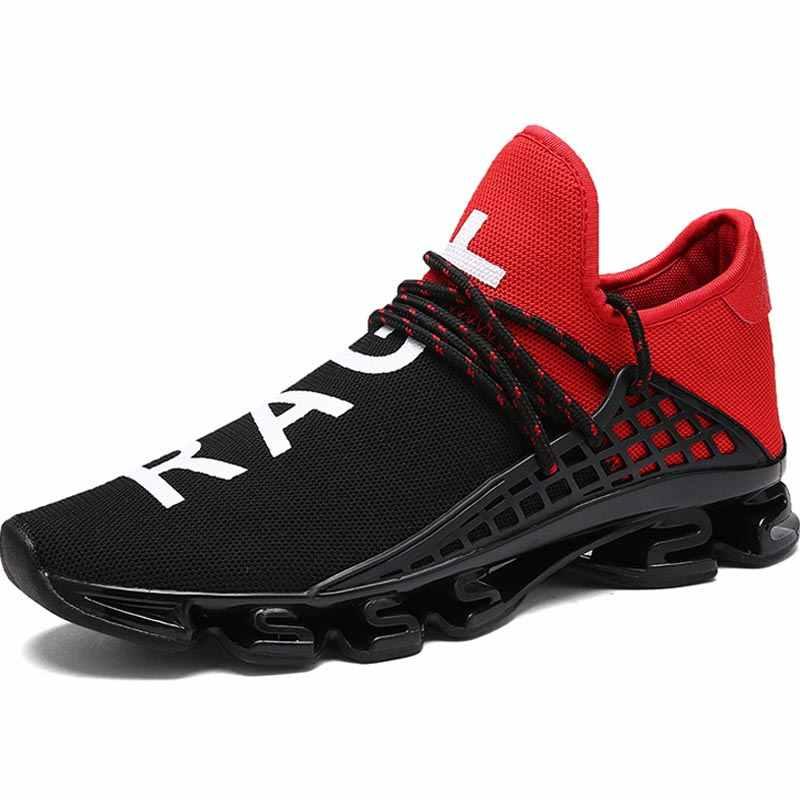 9dbf0a3fa7 Hundunsnake Big Size Women Running Shoes Men Sneakers Dames Outdoor  Chaussure Femme Sport Shoes Sports Black Training Walk B-040