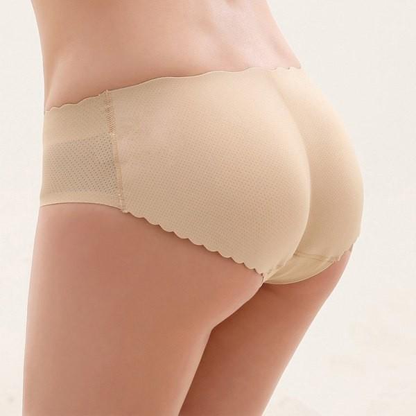 Femme Sexy Slip Culotte Push Up Prothese Fessier Fausses Fesses ... 9acc22c0867