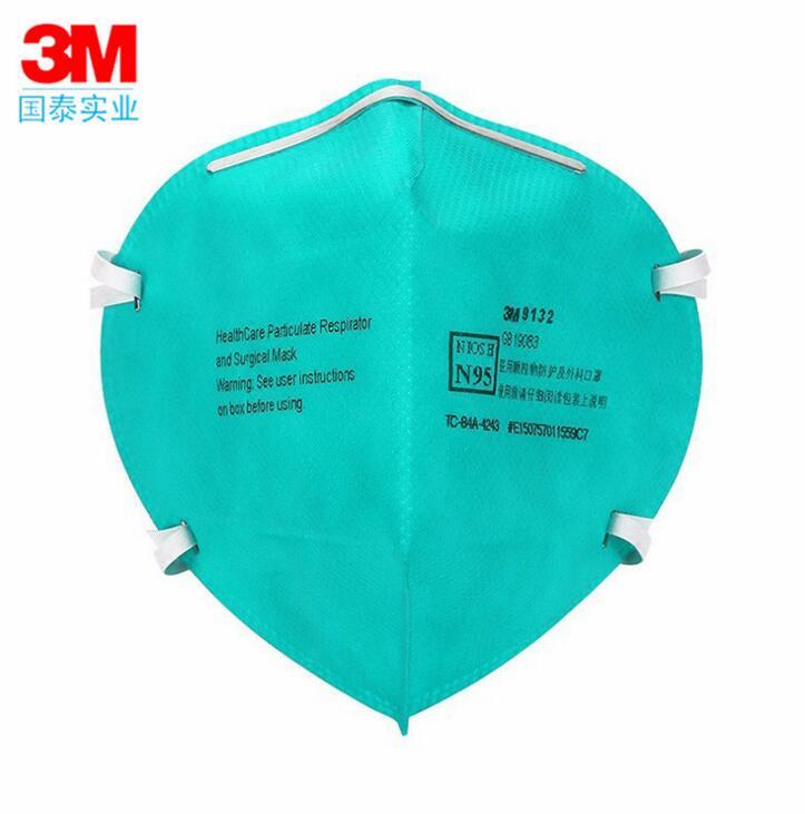 3 mt medizinische maske 9132 N95 schutz maske anti-influenza-virus bakterien bakterien männlichen und weiblichen atmungsaktiv