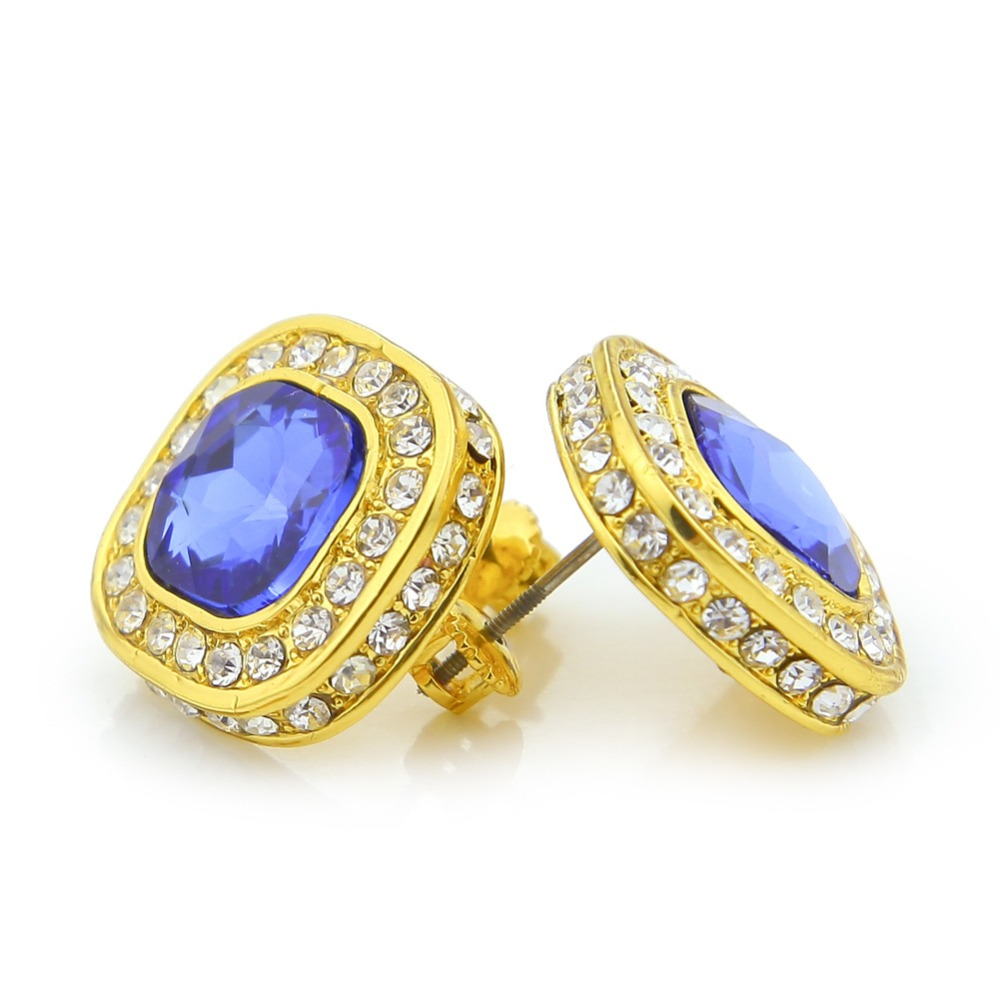 sapphire and mens product earrings bulgari diamond stud flower