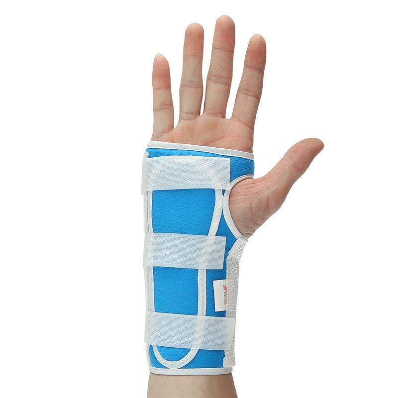 Brand New Breathable Sports Safety Brace Bandage Belt Splint Sprains Brace Belt Carpal Tunnel Hand Wrist Support Brace Useful