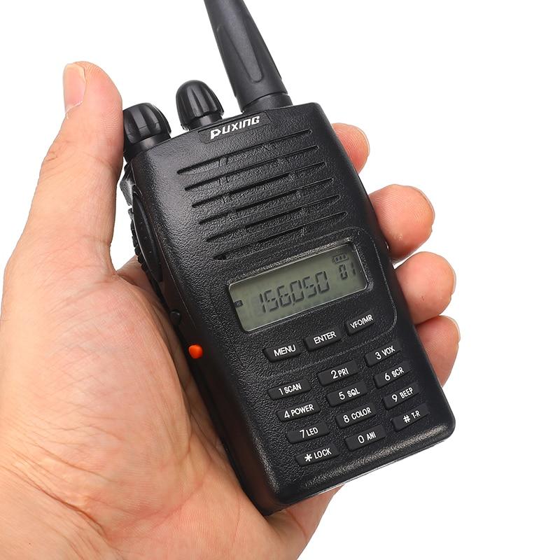 1 Pc Tragbare Walkie Talkie Retevis Px-777 Vhf Transceiver Two Way Radio Station Communicator Zwei-weg Radio Walkie- Talkie Px-777