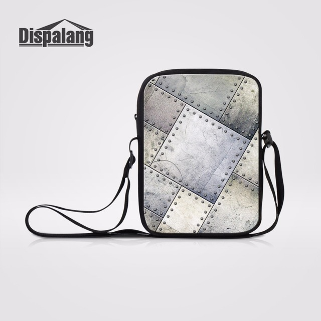 Dispalang Metal Pattern Messenger Bags For School Kids Small Sling Bag  Children Schoolbag Travel Crossbody Bag d43d97e757