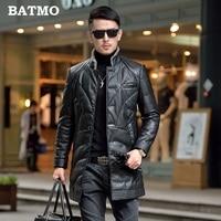 Batmo 2019 new arrival winter high quality warm 90% white duck down jackets men ,men's winter coat plus size