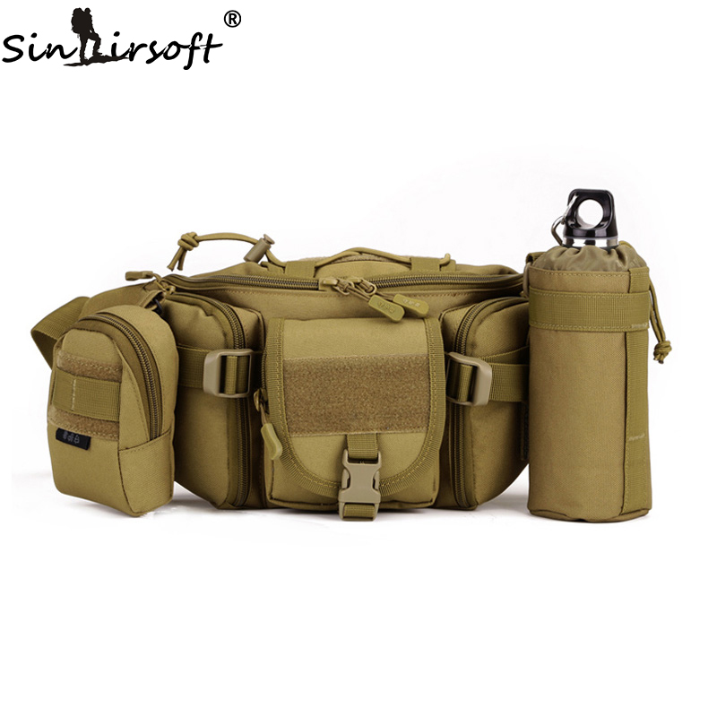 1000D NYLON Tactical Pouch Molle Hunting Bag Waterproof Hiking Fishing Waist Bags Tactical Sports Bag EDC Bag