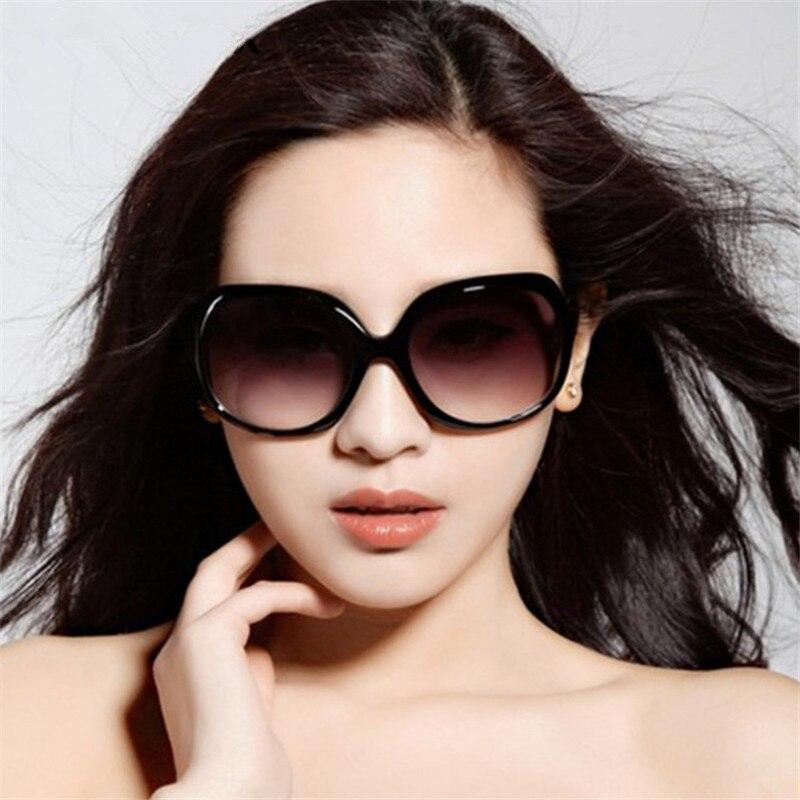 a503fd1b2 2018 Novo Espelho Óculos de Proteção à prova de Explosão-Lente Grande  Quadro Feminino Óculos De Sol Das Mulheres Da Marca Do Vintage Óculos de  Sol Mulheres ...