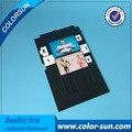 Bandeja de cartão de jato de tinta pvc cartão de visita impressão de plástico bandeja para epson R260 R265 R270 R290 T50 A50 P50 PX660 RX680 L800 L801 R330
