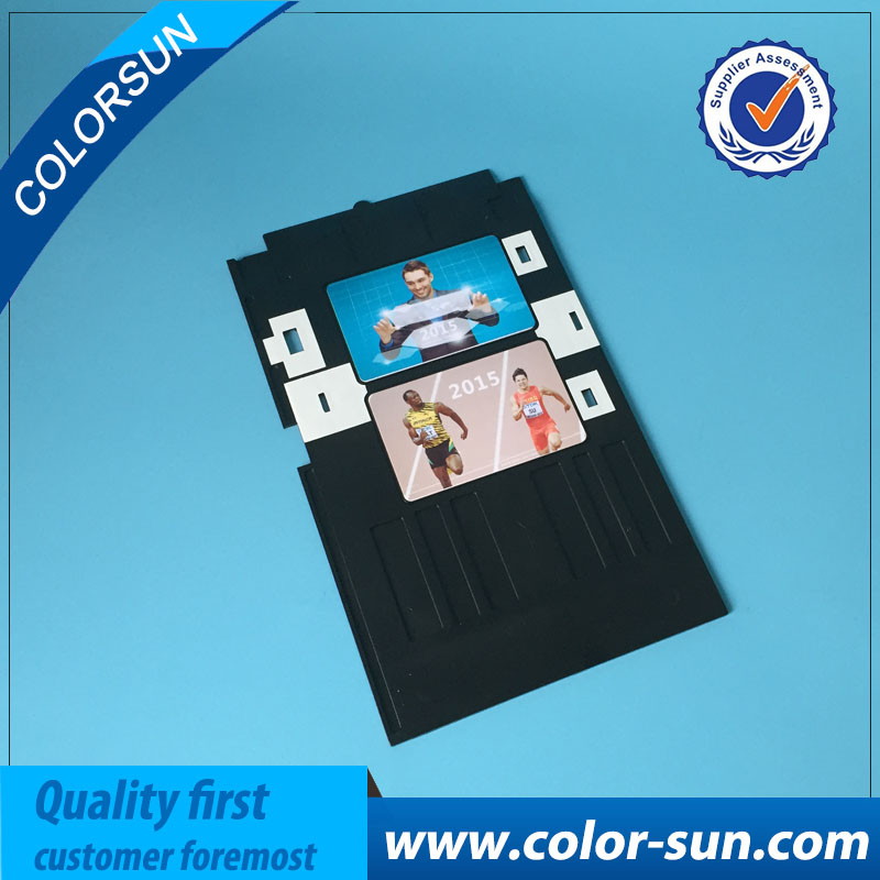 The Cheapest Price By Dhl Or Fedex 50pcs Pvc Card Tray For Epson T50 T60 A50 P50 L800 L801 L805 L810 L850 Tx720 Px660 Rx590 R285 R290 R380 R390 Office Electronics