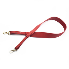 96cm Bag Strap Handbag Straps Replacement Parts Bag Belts Leather DIY Handmade Red Handles for Womens Shoulder Bags Accessories leather strip handmade diy detachable bag strap handles belts accessories for handbag crossbody shoulder bags replacement 5m