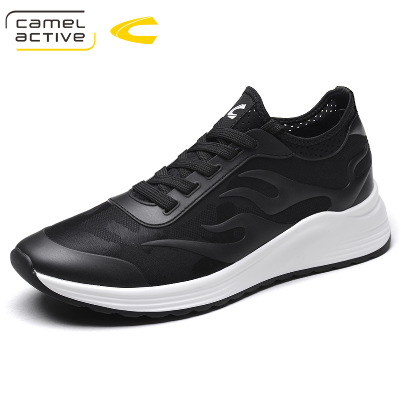 Camel Active Men Shoes 2018 Summer Sneakers Breathable Casual Shoes Fashion Comfortable Lace up Men Sneakers Mesh Flats Shoes men casual shoes lace up mesh men outdoor comfortable shoes patchwork flat with breathable mountain shoes 259
