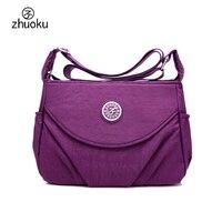 Shoulder Bags Bolsos Waterproof Womens Bag High Quality Nylon Bag Lnternal Multi Layer Female Bag Messenger