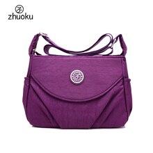 Sacs à bandoulière Bolsos étanche Femmes sac Haute qualité Nylon lntérieur multi-couche Femelle sac Messenger sac ZK1603